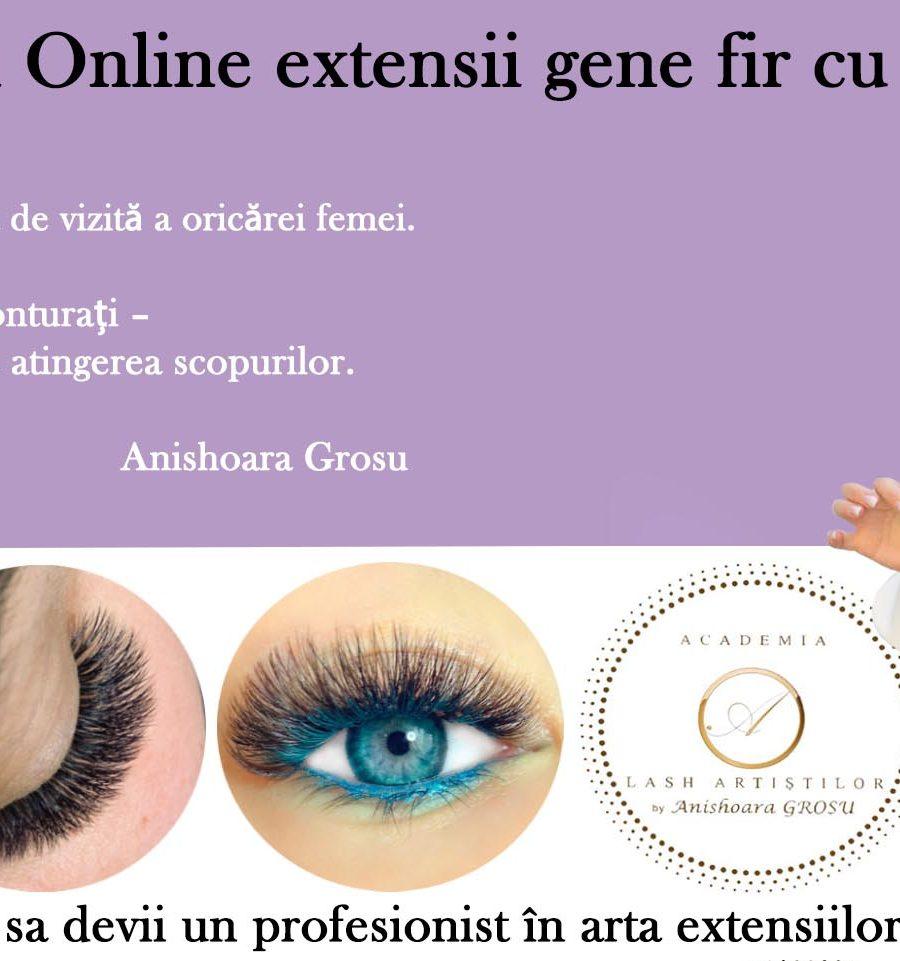 cursuri online extensii gene fir cu fir